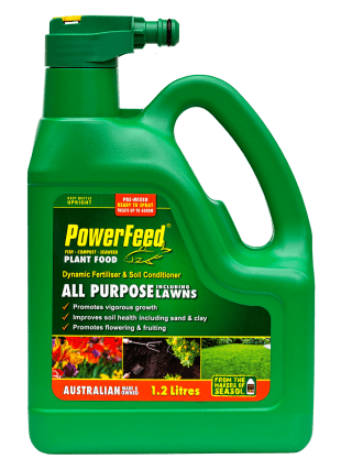 PowerFeed 1.2lt hose-on product information Home garden product