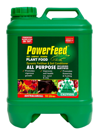 PowerFeed All Purpose including Natives 10 litre conc product info