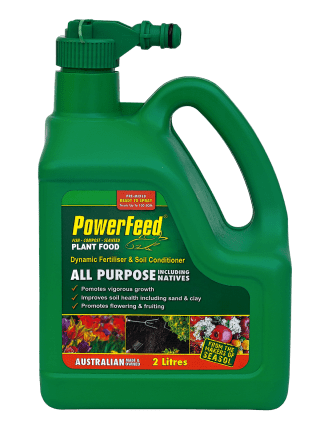 PowerFeed 2lt hose-on product information Home garden product