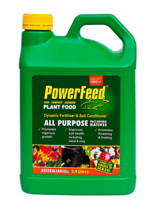 PowerFeed All Purpose including Natives 2.4 litre conc product info