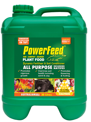 PowerFeed All Purpose including Natives 20 litre conc product info