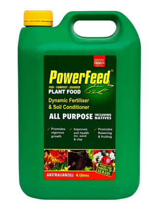 PowerFeed All Purpose including Natives 4 litre conc product info