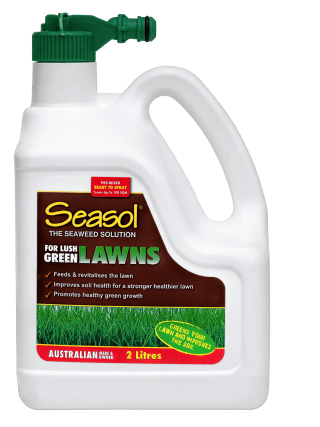 Seasol Lush Green Lawns 2lt hose-on product info