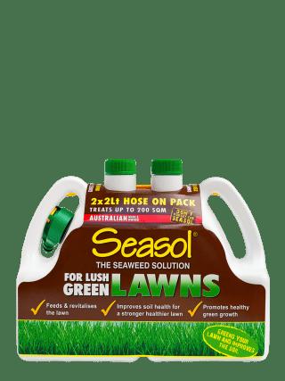 Seasol for Lush Green Lawns