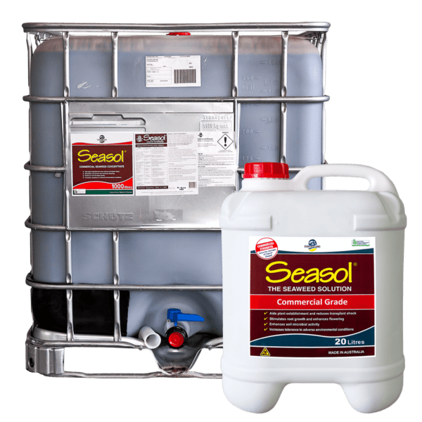 Seasol Commercial in 1000L and 20L