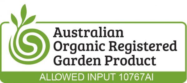 Seasol Garden Australian Certified Organic logo Colour with 10767AI