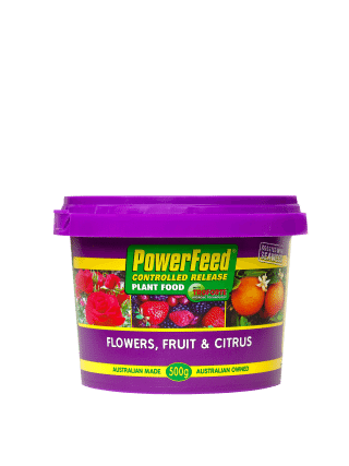 Seasol PowerFeed Controlled Release Flowers, Fruits & Citrus 500gram product information