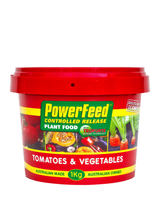 Seasol PowerFeed Controlled Release Tomatoes and Vegetables 1kg product information