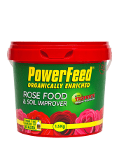PowerFeed with Troforte Rose Food and Soil Improver 1.5kg product info