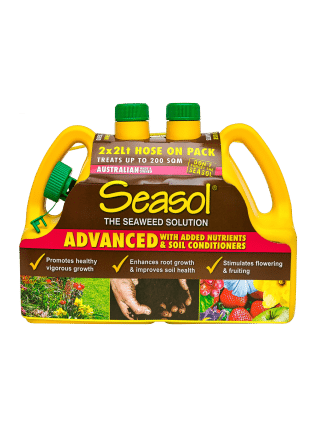 Seasol Advanced 2 Lt hose-on twin pack product information