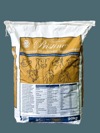 Pristine natural livestock feed