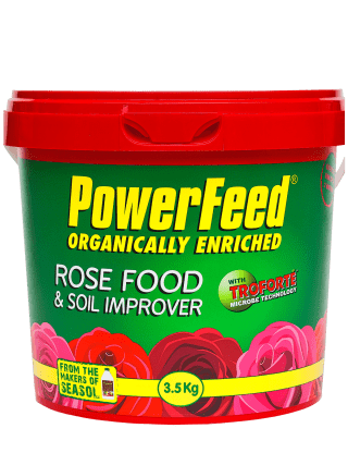 PowerFeed with Troforte Rose Food and Soil Improver 3.5kg product info