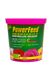 PowerFeed PRO Controlled Release Rose Food & Soil Improverl 800grams product info