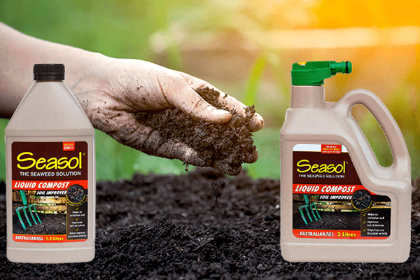 Improving soil structure with Seasol Liquid Compost