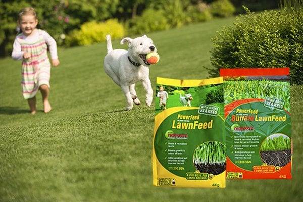 Feed lawns with PowerFeed