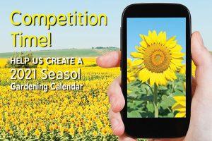 Seasol 2021 Gardening Calendar Compeition January 2020