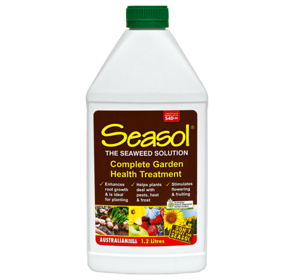 Seasol 1.2 litre concentrate banner