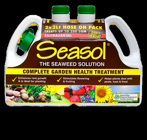 Seasol 2 litre hose-on TWIN