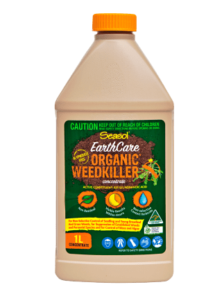 EarthCare Organic WeedKiller spray 1 litre concentrate Home garden product